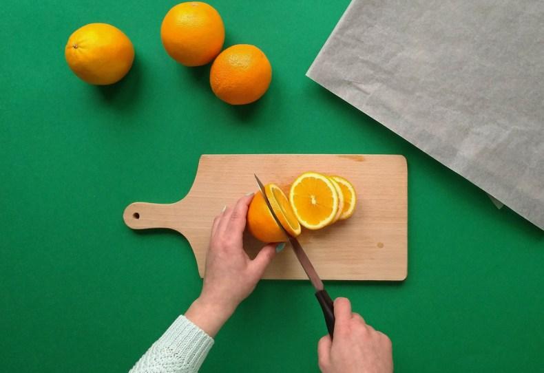 Jak suszyć pomarańcze