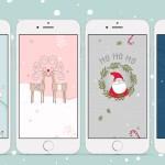 Świąteczne tapety na telefon – cztery wzory do pobrania