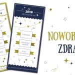 Wróżba na Nowy Rok 2018 / z przymrużeniem oka