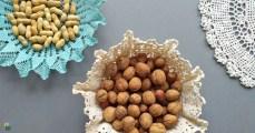 Szydełkowa serwetka w nowej roli czyli koszyczek DIY