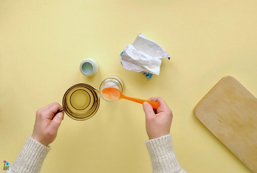 tablicówka, jak zrobić farbę tablicową