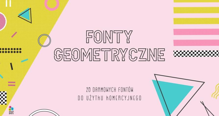 fonty geometryczne do pobrania za darmo