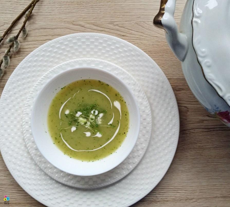 wiosenna zupa z rzeżuchy