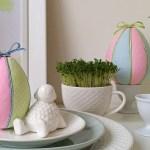 Patchworkowe jajka wielkanocne – technika kimekomi