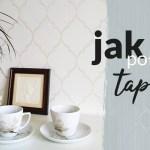 Tapetowanie ściany – jak kłaść tapetę na flizelinie