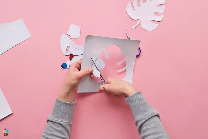 jak zrobić szablon do malowania