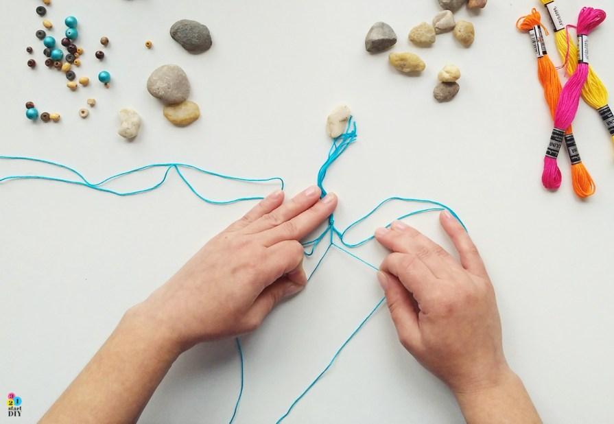 Jak zrobić naszyjnik z kamieniem
