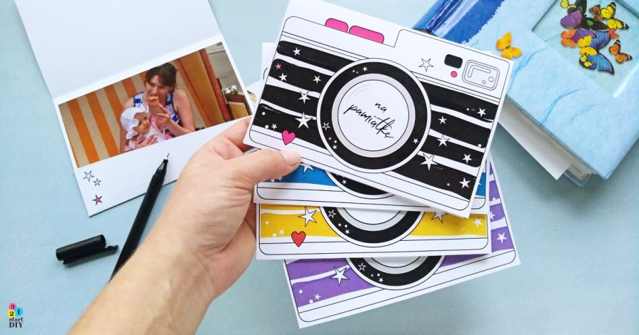 Etui na zdjęcia – aparaty do druku // 5 kolorów