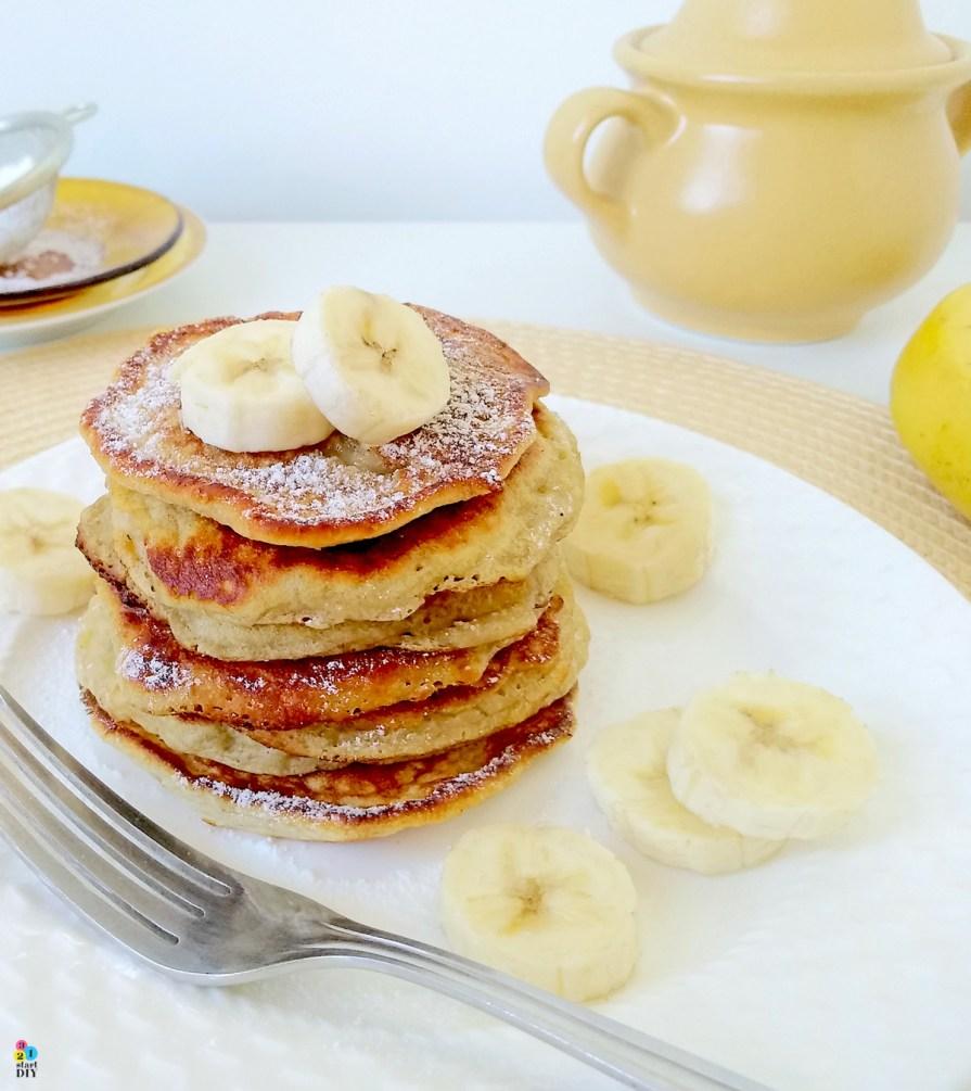 placki z bananów, placki bananowe