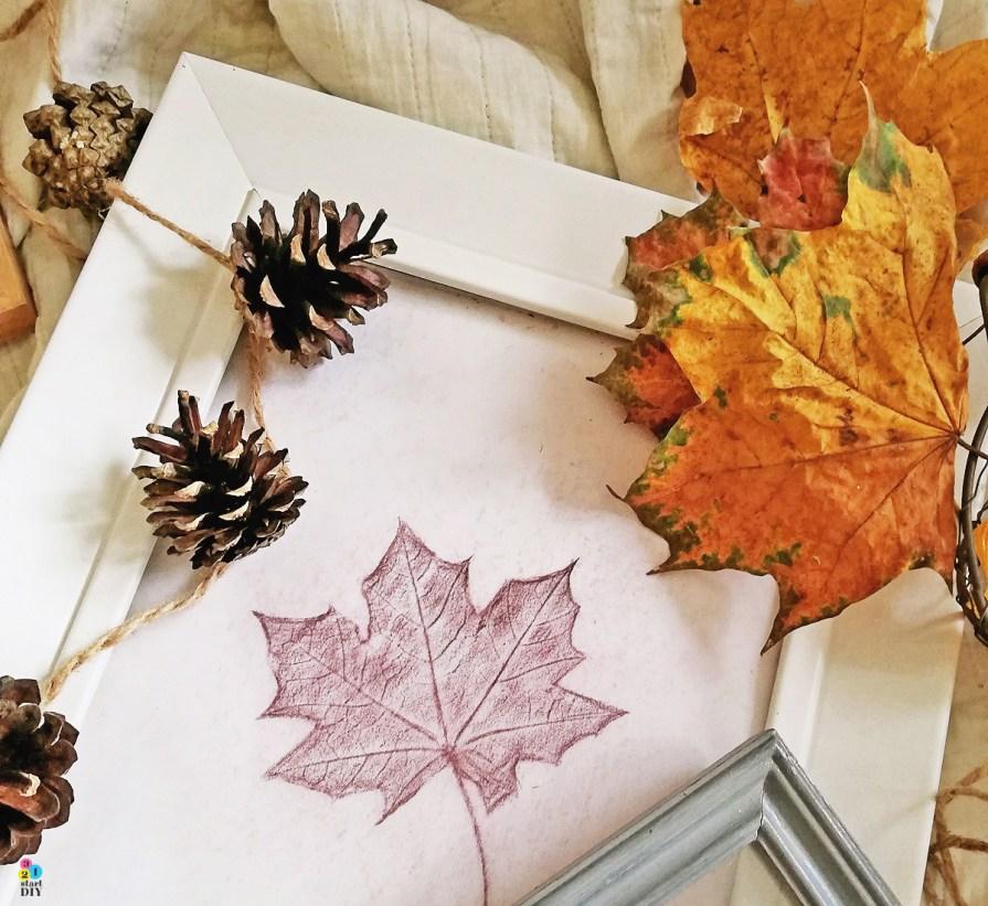 Jak narysować liść? Prosty i szybki trik