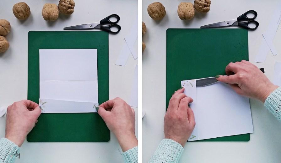 Świąteczny prezent w kopercie - ozdobne koperty na pieniądze do druku