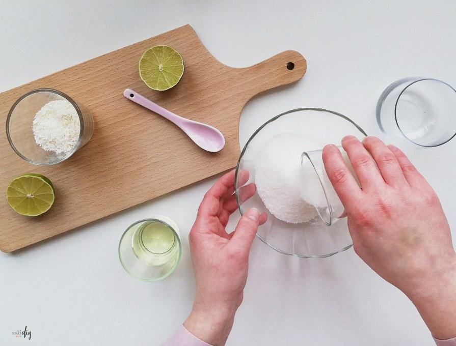 Naturalny peeling kokosowy DIY