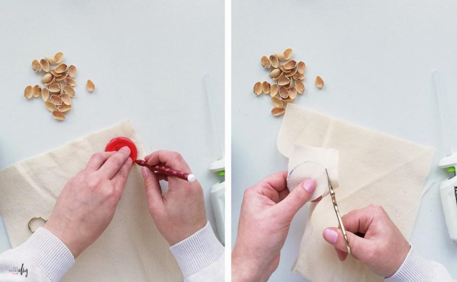 Kwiaty z pistacji - twórcze wykorzystanie łupinek