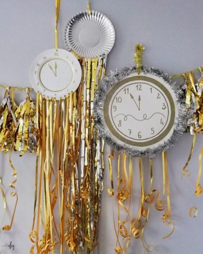 6 szybkich pomysłów na dekoracje sylwestrowe / karnawałowe