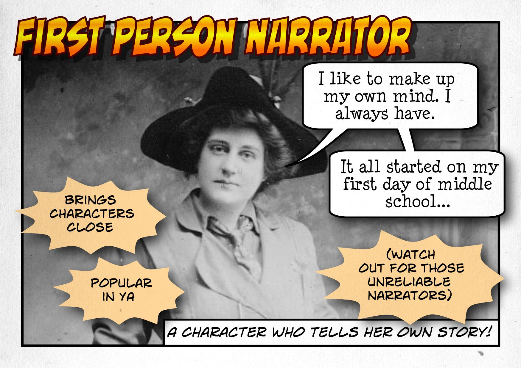 First Person Narrator