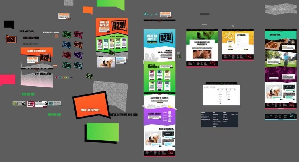 website planning and design elements for new website