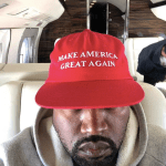 Kanye West Wear Maga Hat, Supports Trump