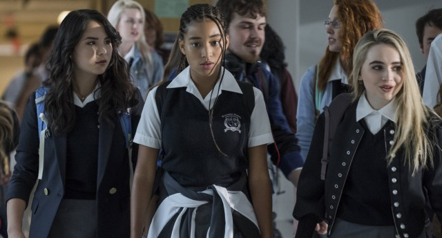 Amandla Stenberg and Sabrina Carpenter The Hate U Give