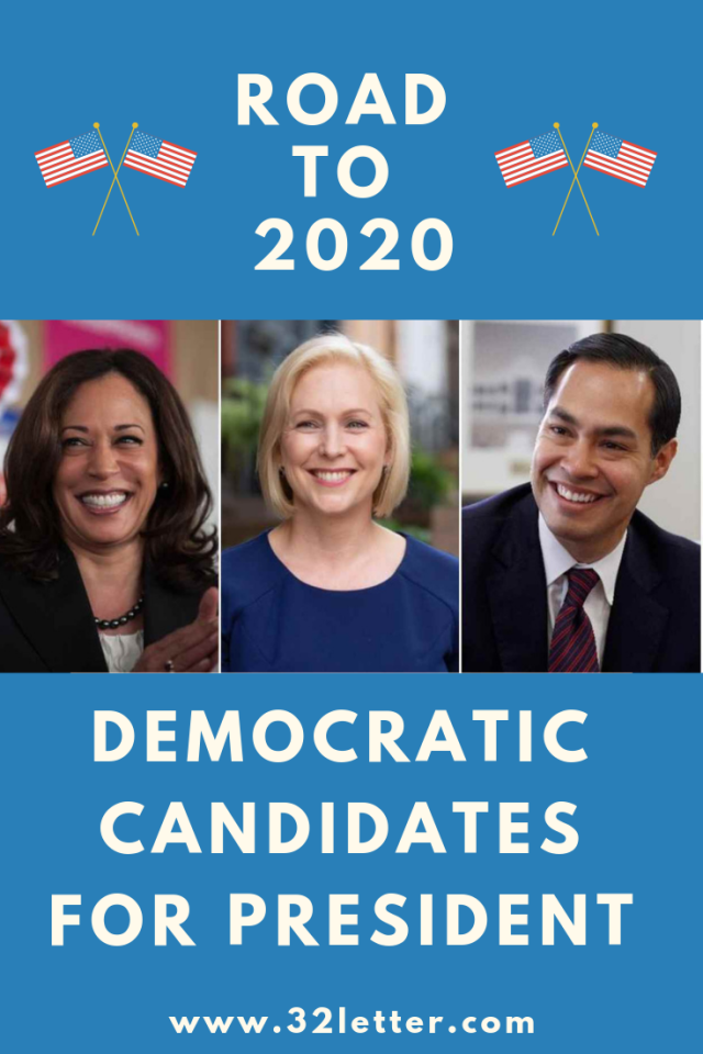 Here are the Democrats running for president in 2020.