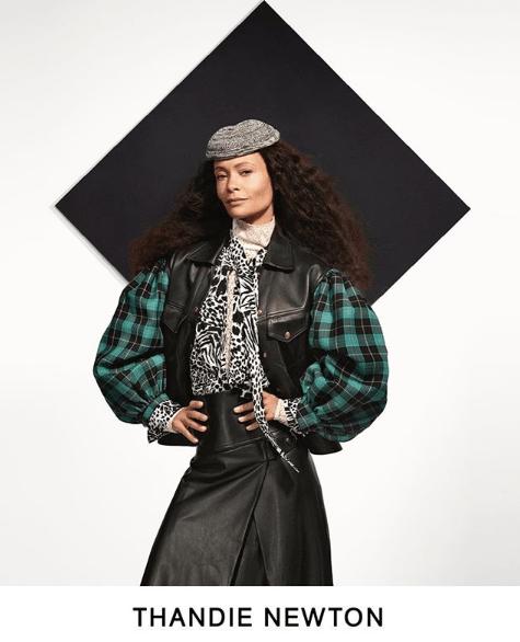 Actress Thandie Newton stars in Louis Vuitton Pre-Fall 2019 lookbook.