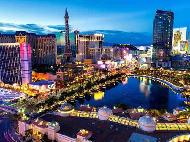 Visit Las Vegas for a winter escape.