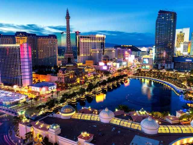 Visit Las Vegas for a winter escape.