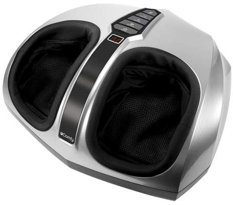 As Seen on TV uComfy Shiatsu Deep Kneading Foot Massager with Multi-Level Settings