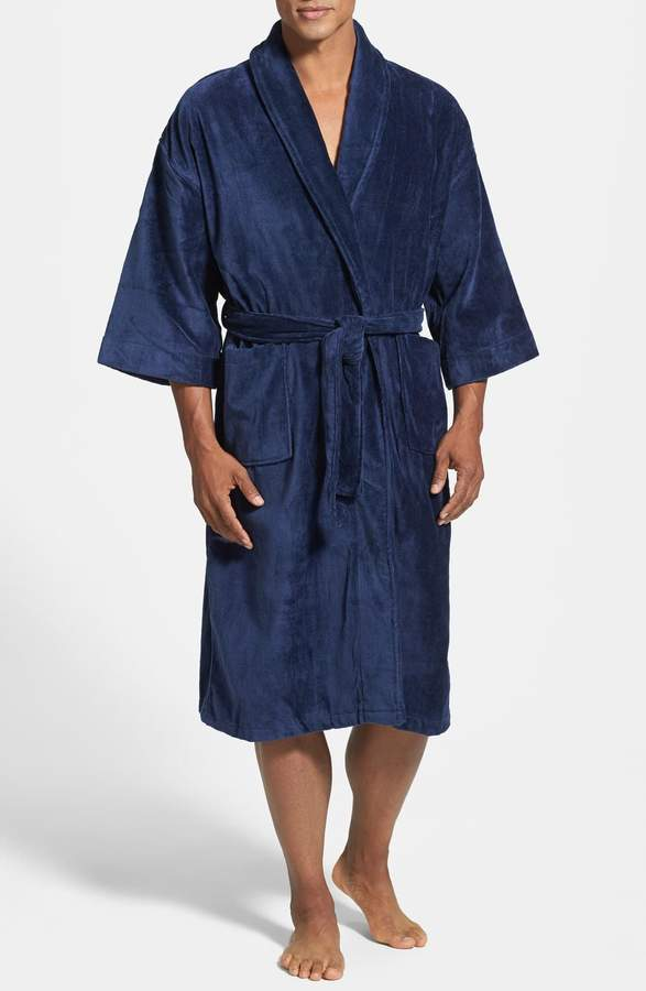 Majestic International Terry Velour Robe