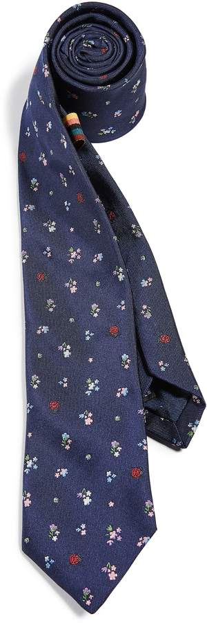 Paul Smith Narrow Flower Tie