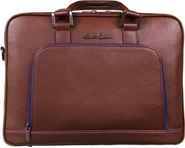Robert Graham Paterio Pebble Grain Briefcase