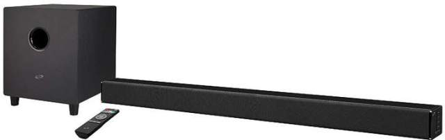 iLive Bluetooth Soundbar with Wireless Subwoofer