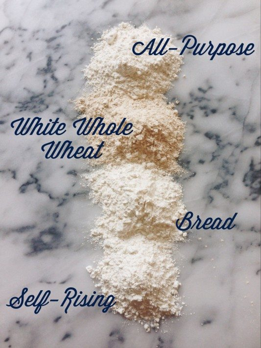 the difference between flours
