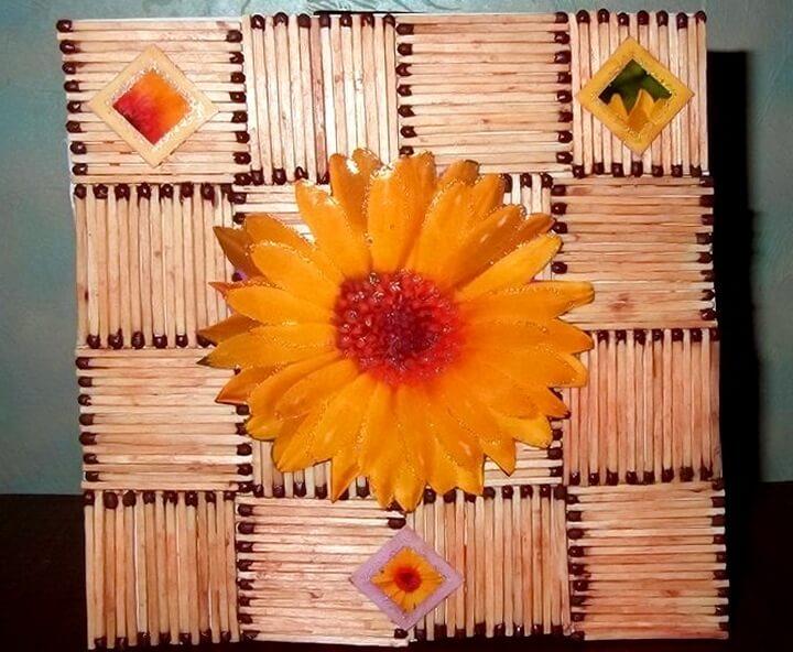 цветы из спичек своими руками фото настройках пользователь может