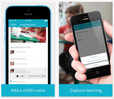 Record a child's voice with Storypark's new iOS app