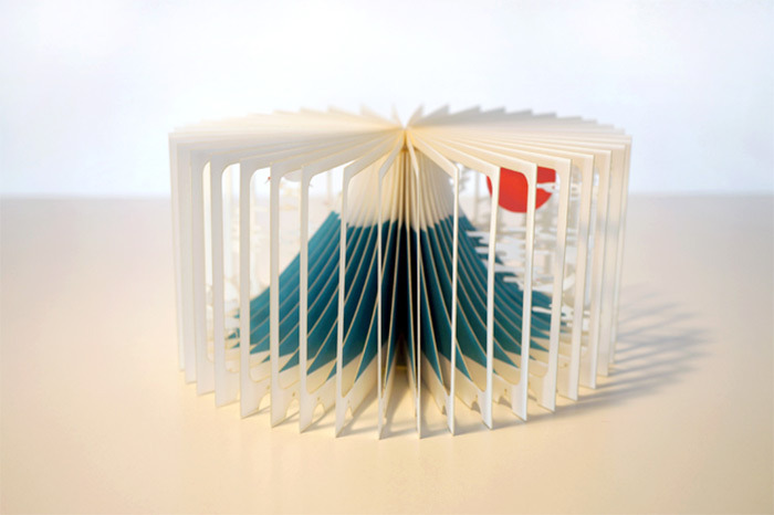 360° Laser-Cut Paper Story Books by Yusuke Oono (3/6)