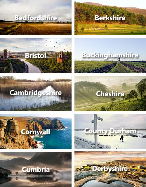 Comment visiter l'Angleterre en 30 secondes
