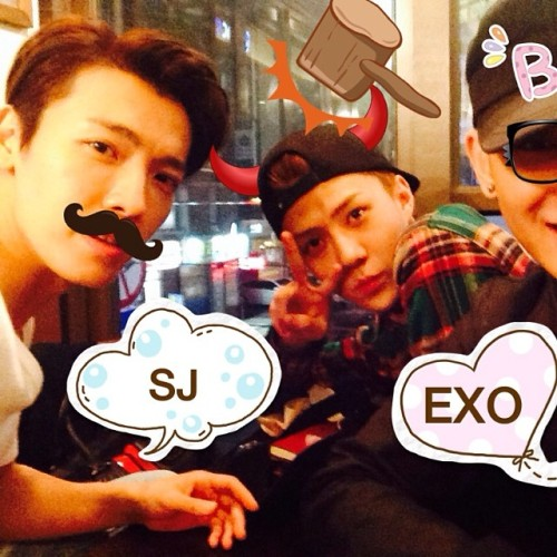 leedonghae's instagram update with Sehun and Tao ♥<br /><br /><br /><br /><br /><br /><br /><br /><br /><br /><br /><br /><br /> Good night :)
