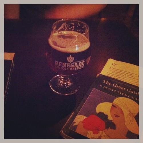 A Gravity Ebb and Flow double red rye last night at @renegadepublik #drinkandspoon #drink #beer #beerporn #beerme #craftbeer #yum