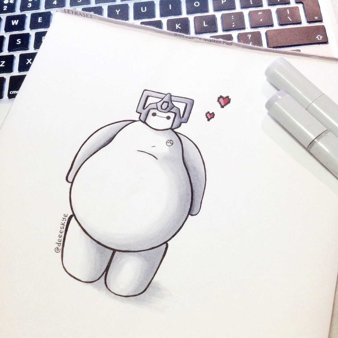 Geek Art Gallery Mash Up Baymax