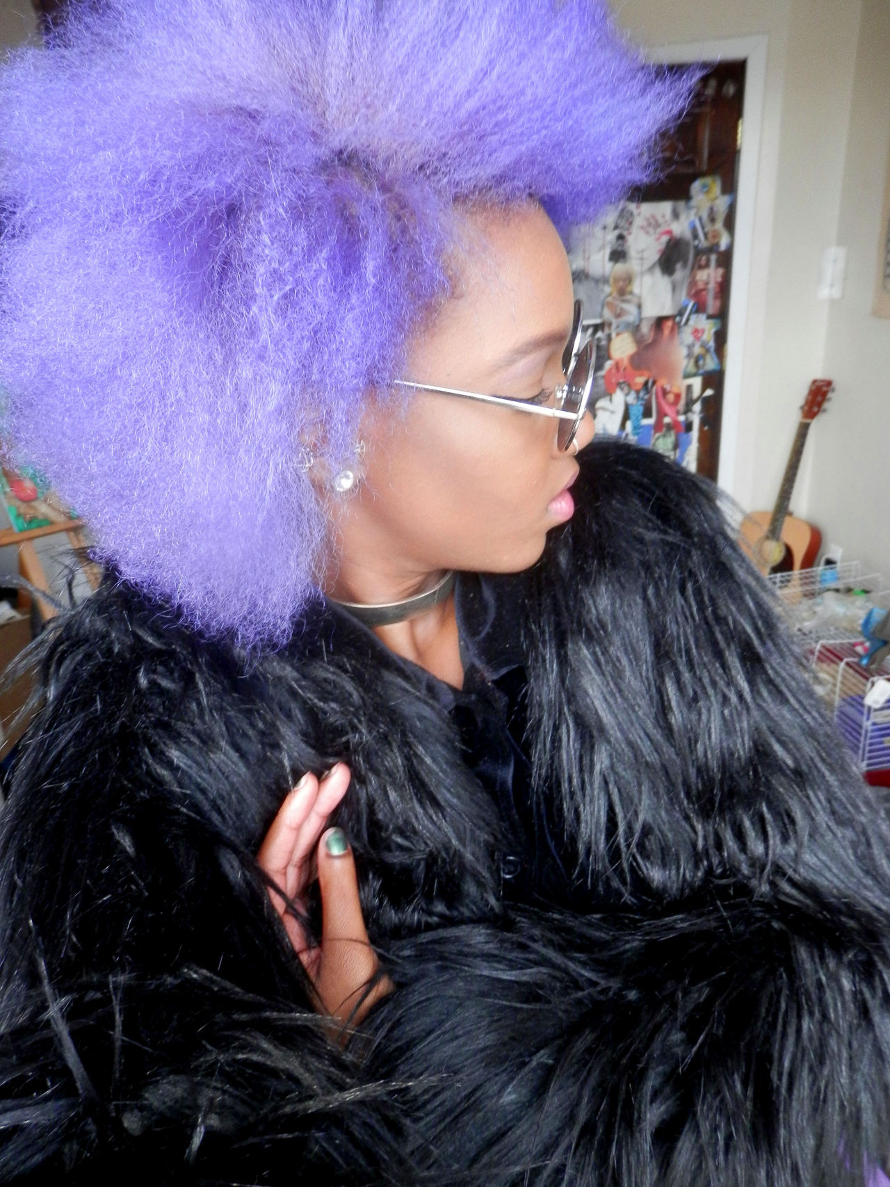 Me Purple Hair Manic Panic Lavender Hair Natural Hair