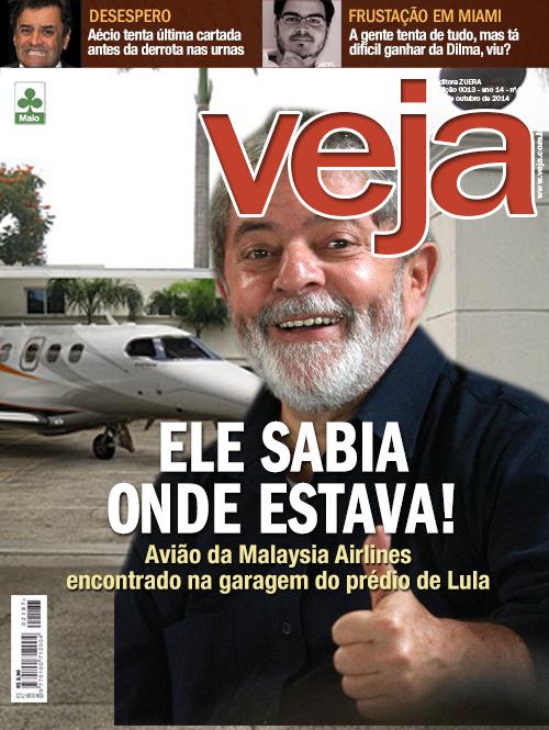 Mindinho de Lula apontou o caminho para os investigadores da Interpol.