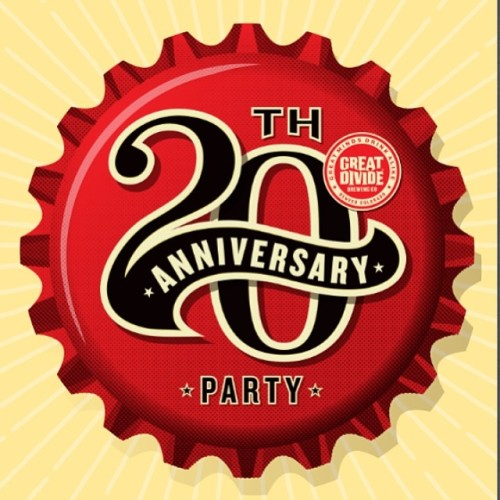 I know where I'll be tomorrow! Tons of beer by @greatdividebrew  food trucks, and music…sounds like the best party ever! Head over to @imbibedenver to grab your tickets now! #drinkandspoon #craftbeer #craftbeercommunity #party #anniversary #beerporn #beer #denver #colorado