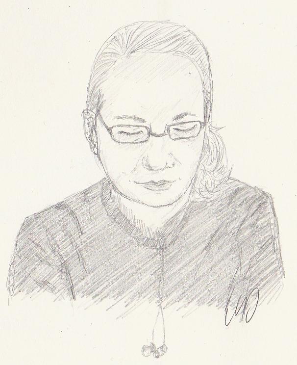 Sketch of a friend of mine