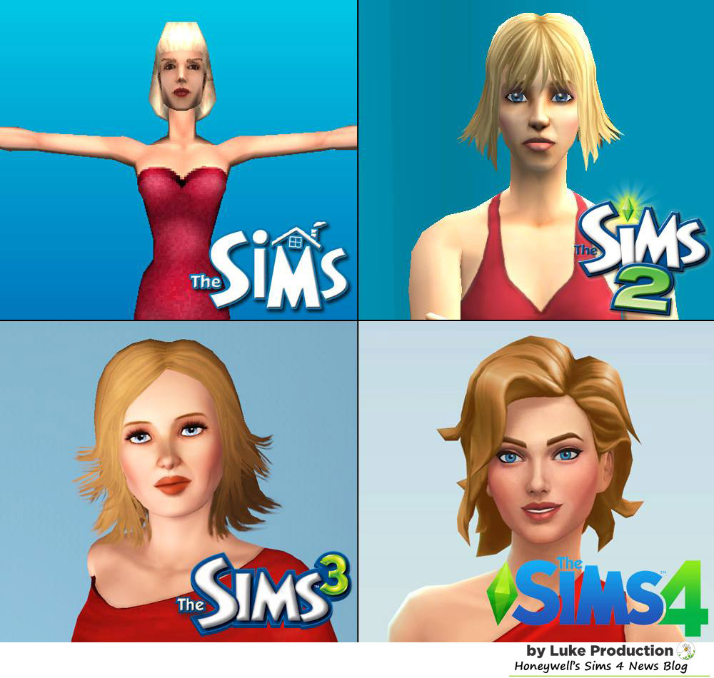 Sims through the years c/o Luke Productions