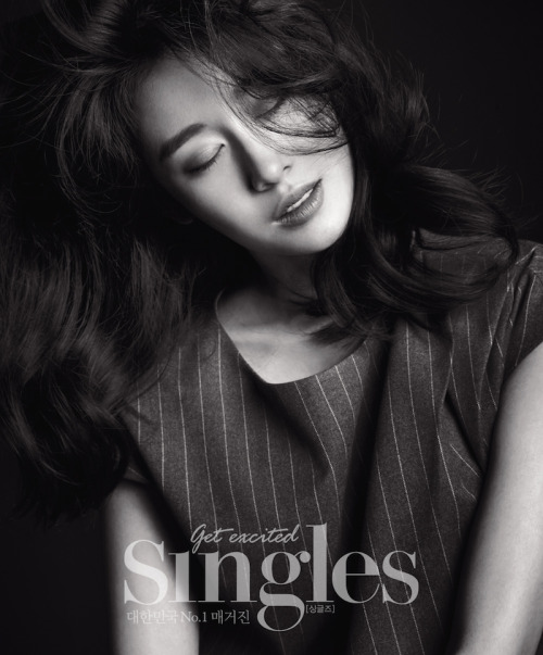 Jiyeon for Singles Korea 싱글즈