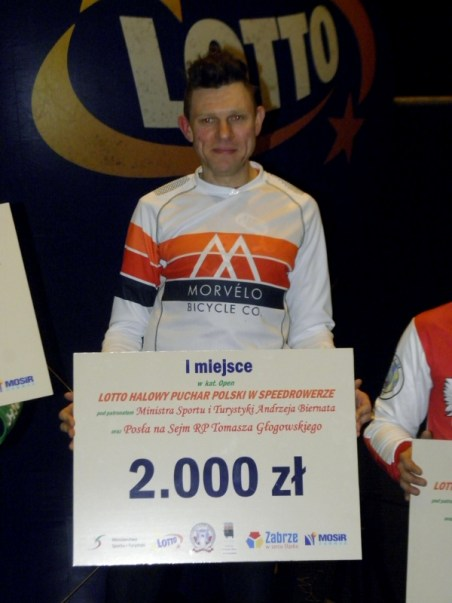 Polish Champion Lukas Nowacki