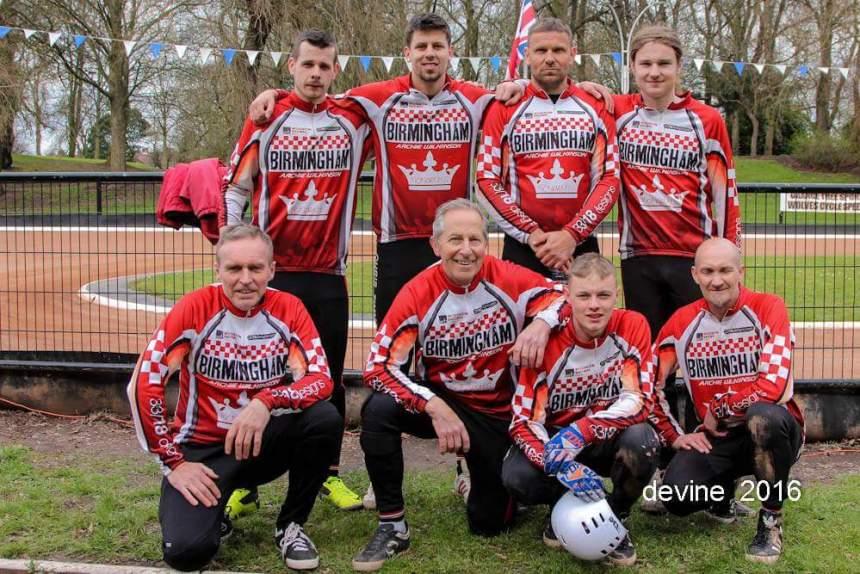 Birmingham's winning team: