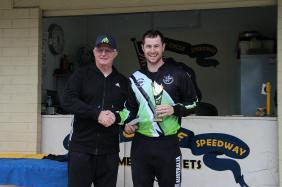 Brian Herd winner, Joel Chadwick