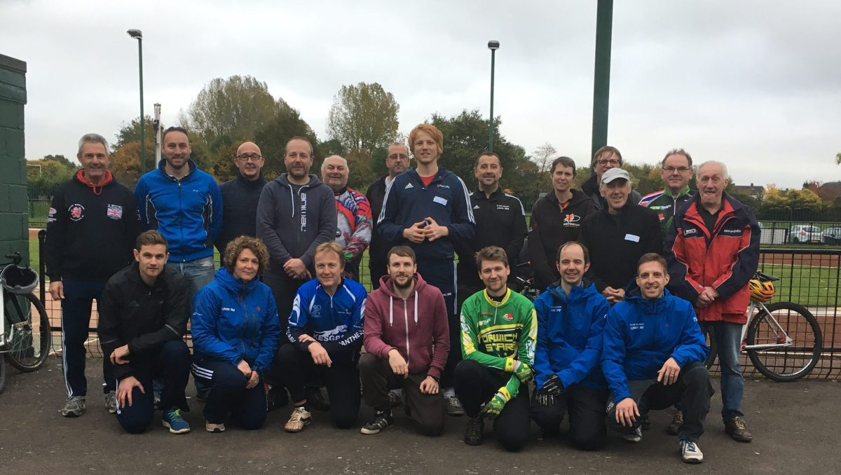 COACHING: Cycle Speedway Discipline specific Coaching course