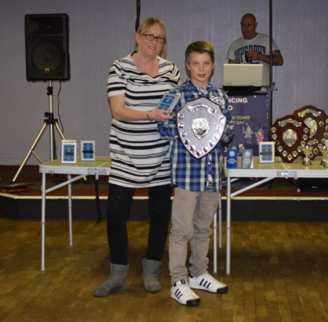 U12 Rider of the Year Nathan Goulden